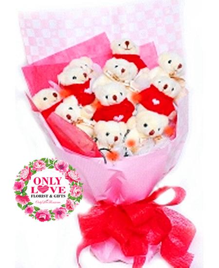 Teddy Bears & Soft Toys Bouquet