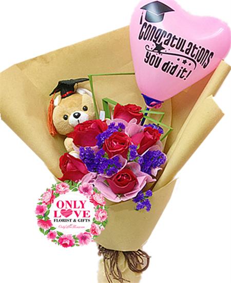Florist KL Graduation Bouquet