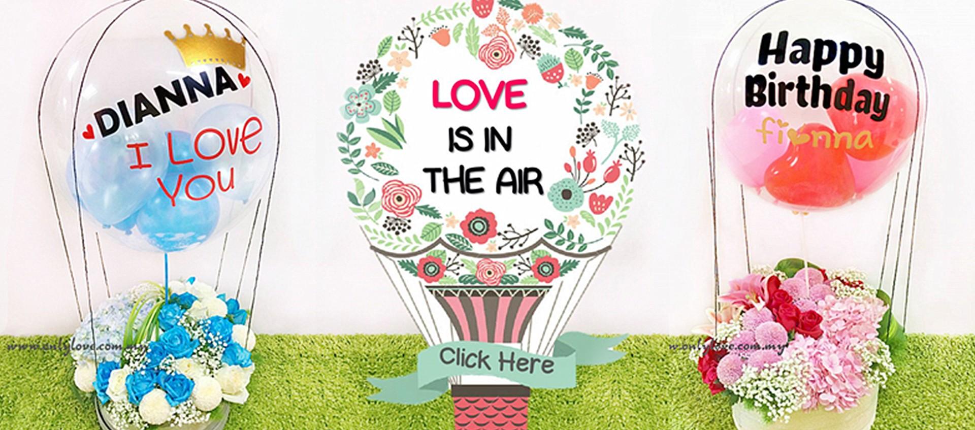 Hot Air Balloon Bloom Box