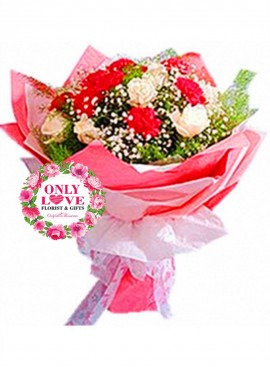 MD014 Carnation Bouquet