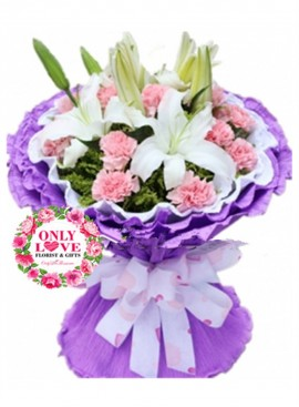 MD041 Carnation Bouquet