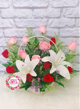 B01 Flower Basket