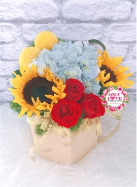 BB002 Flower Bloom Box