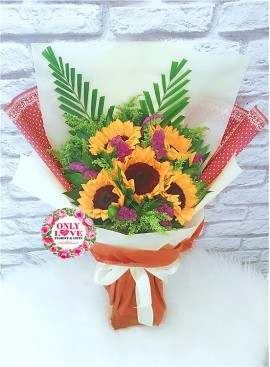 S09 Sunflower Bouquet
