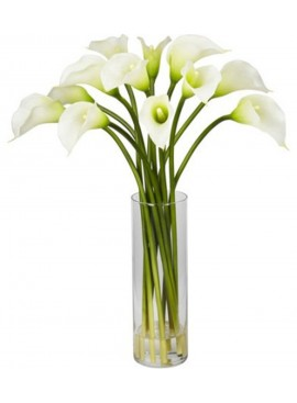 V02 Imported Calla Lily in Vase