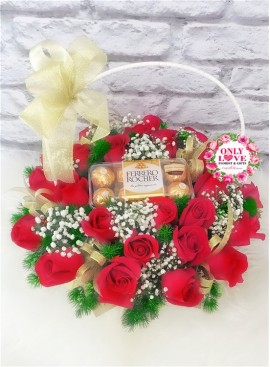 B24 Flower Basket