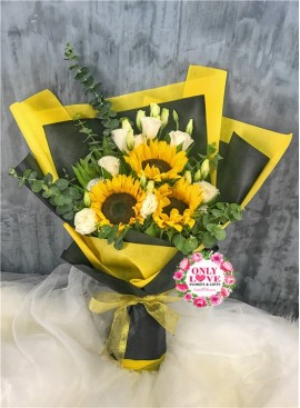 S10 Sunflower Bouquet