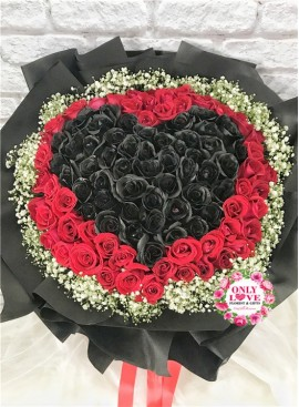 L72 99 Stalks Rose Bouquet
