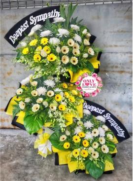 C47 Condolence Stand