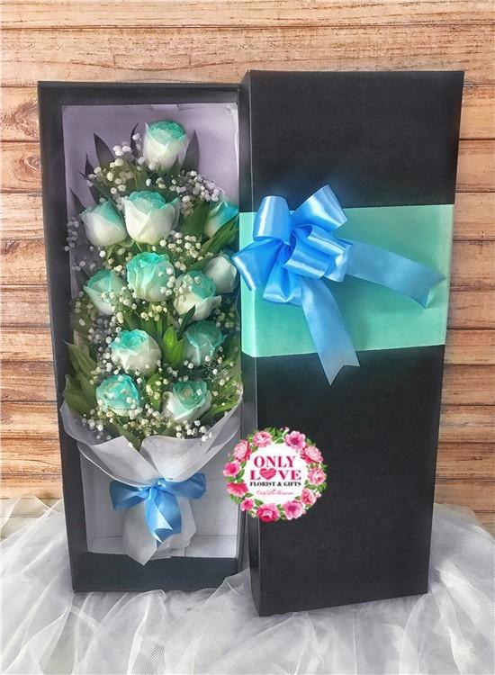 LB27 Rose Flower Gift Box