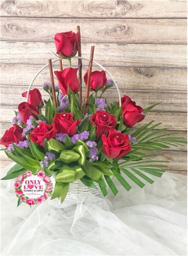 B09 Flower Basket