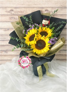 GB23 Graduation Bouquet