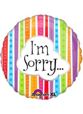 FB17 I'm Sorry Foil Balloon