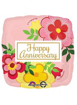 FB34 Flower Anniversary Balloon