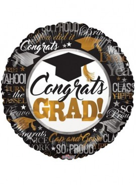 FB45 Congrats Grad Balloon