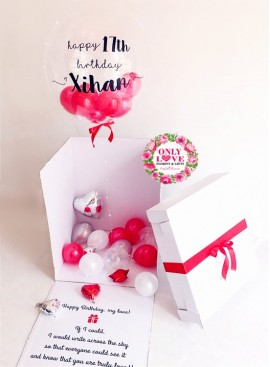 FB52 Surprise Balloon Box
