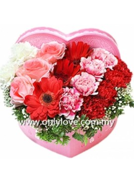 LB18 Mixed Flower Gift Box
