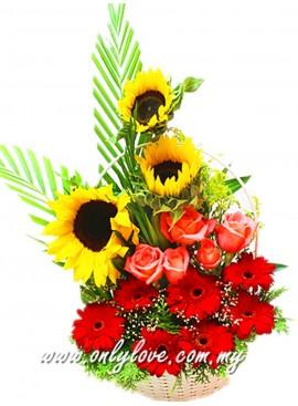 B02 Flower Basket