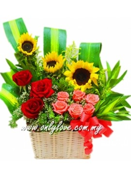 B03 Flower Basket