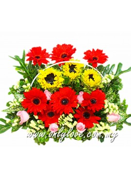 B10 Flower Basket