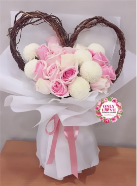 KS013 꽃다발 Korean-Style Bouquet