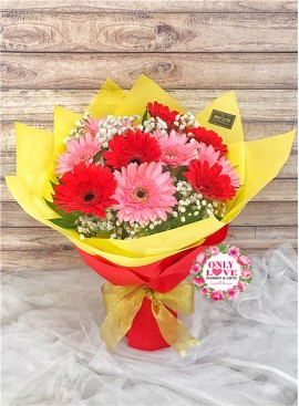G03 Gerbera Bouquet