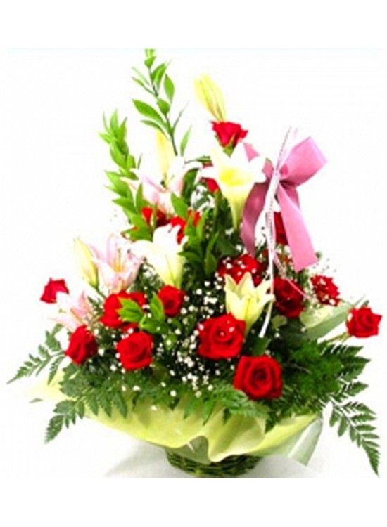 Flower basket delivery malaysia : B flower basket sameday delivery to malaysia