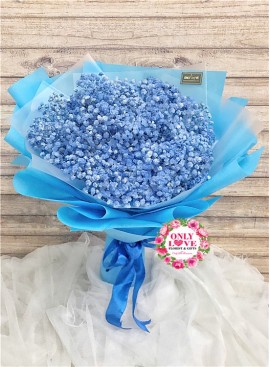 BA01 Baby Breath Bouquet