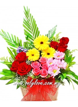 B20 Flower Basket