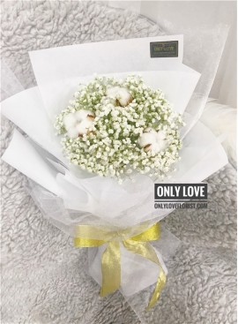 BA18 Baby Breath Bouquet