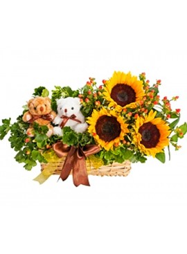 B22 Flower Basket