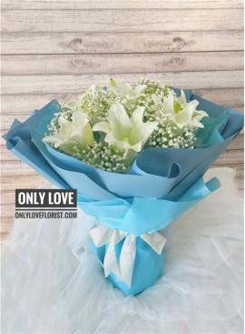 A13 Lilies Bouquet