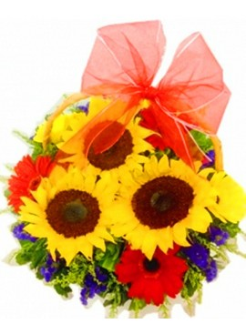 B23 Flower Basket