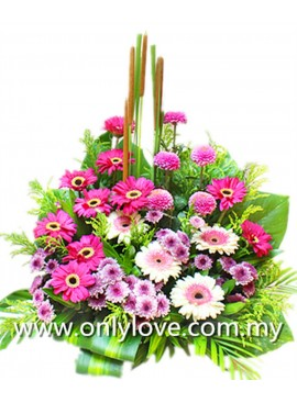 B25 Flower Basket
