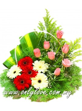B28 Flower Basket