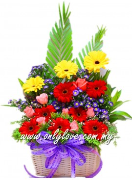 B30 Flower Basket