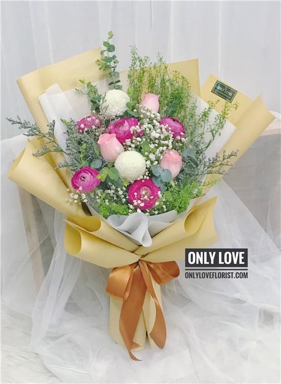 KS018 꽃다발 Korean-Style Bouquet