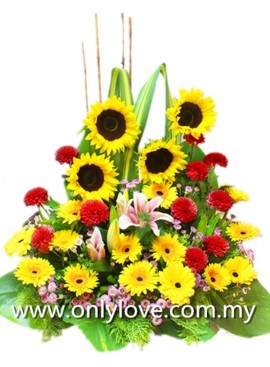B37 Flower Basket