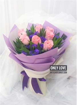 L101 Rose Hand Bouquet