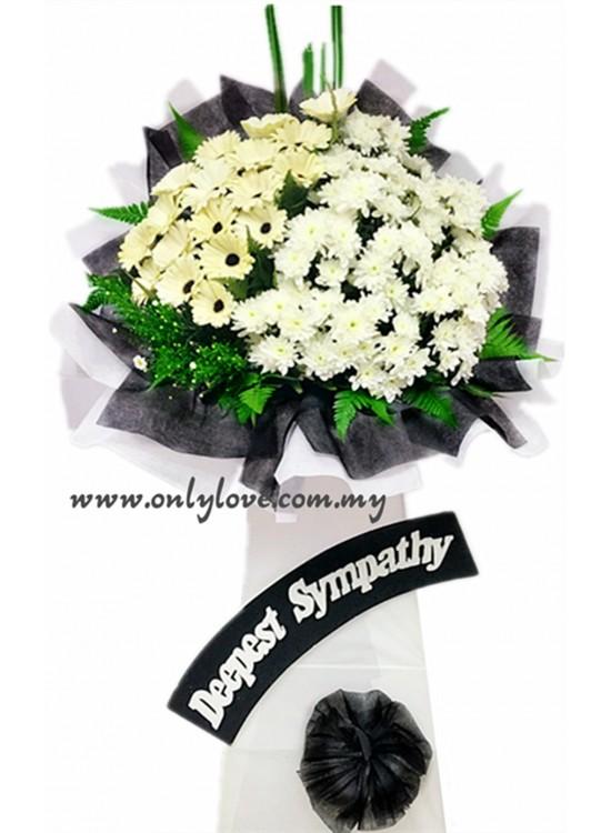 C08 Condolence Stand