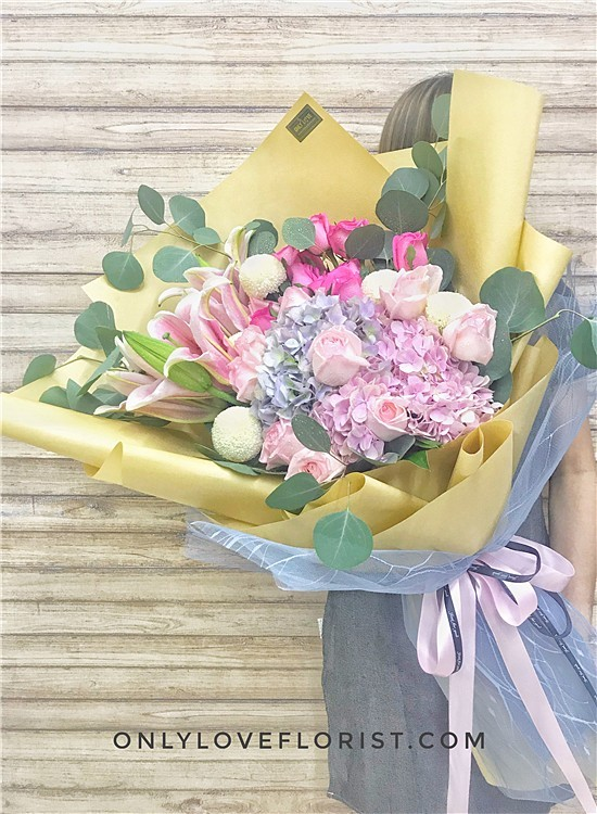 KS022 꽃다발 Korean-Style Bouquet
