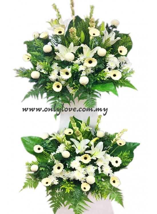 C11 Condolence Stand
