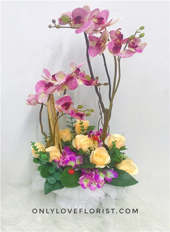 AB12 Artificial Congratulation Flowers