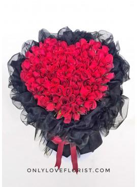 L23 99 Stalks Rose Bouquet