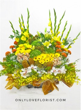 B44 Premium Flower Basket
