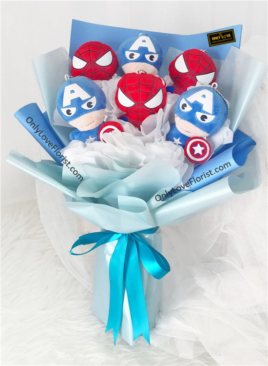 H18 Marvel Heroes Bouquet