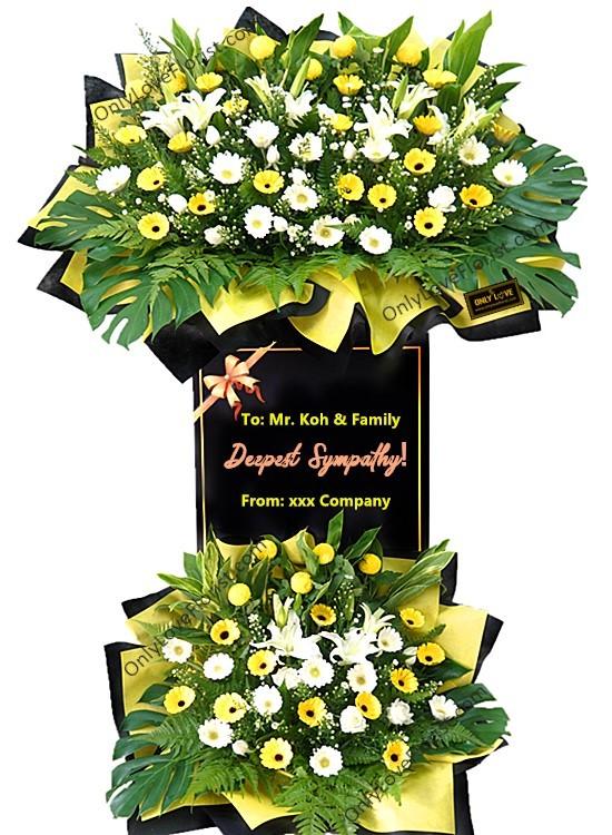 C40 Condolence Stand
