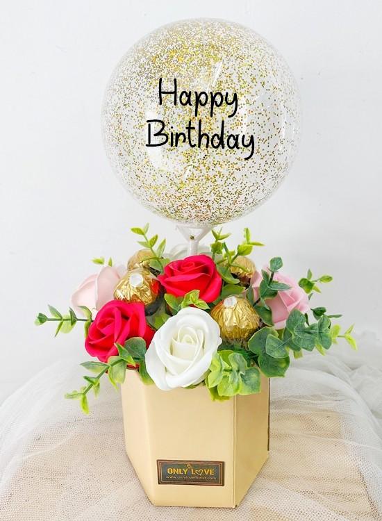 HAB14 Hot Air Balloon Bloom Box
