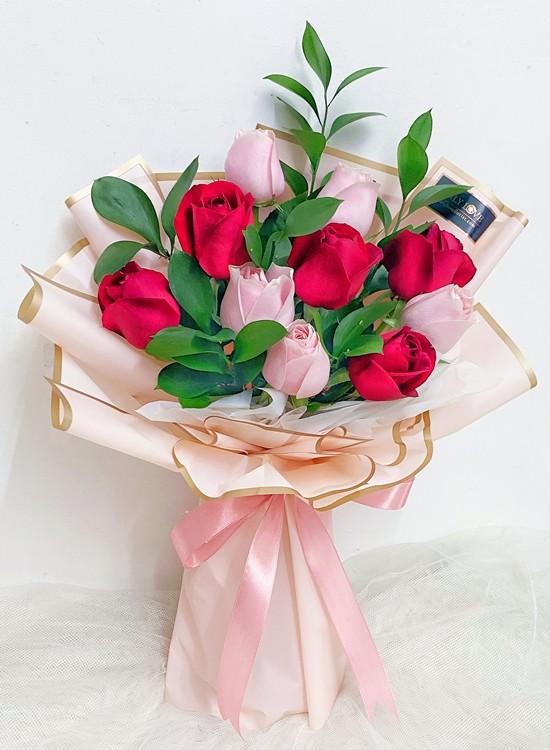 L40 Rose Flower Bouquet