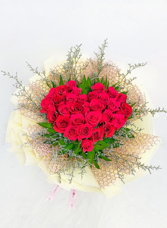 L164 Rose Flower Bouquet